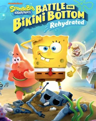 Spongebob Squarepants: Battle for Bikini Bottom - Rehydrated kép