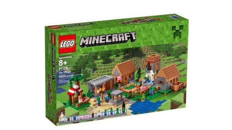 Mit szólnál egy 1600 darabos LEGO Minecraft szetthez? bevezetőkép