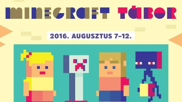 Budapesten is lesz Minecraft Tábor! bevezetőkép