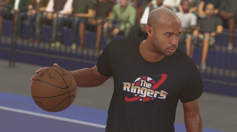 NBA 2K17 - Thierry Henry-val is játszhatunk majd bevezetőkép