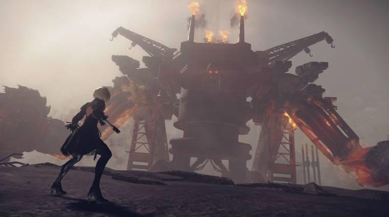 NieR: Automata - 4K trailer mutatja meg, hogy fut Xbox One X-en bevezetőkép