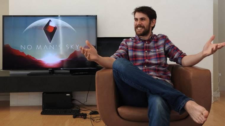 No Man's Sky - így játszik a Hello Games vezére bevezetőkép