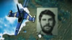 No Man's Sky - valaki Sean Murray arcképét építette meg egy bolygón kép