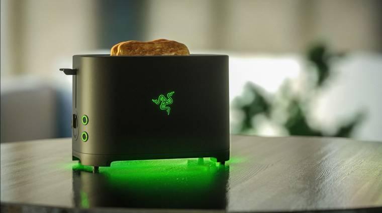 Végre tényleg elkészülhet a Razer kenyérpirító bevezetőkép