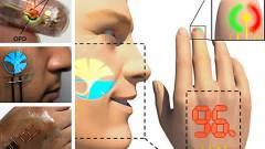 Vékonyabb a bőrnél az új kijelző kép
