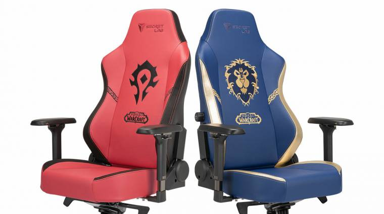 Már a gamer székek is beszálltak a Horda és a Szövetség harcába bevezetőkép