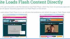 Alapból blokkolni fogja a Flash Playert a Chrome böngésző kép
