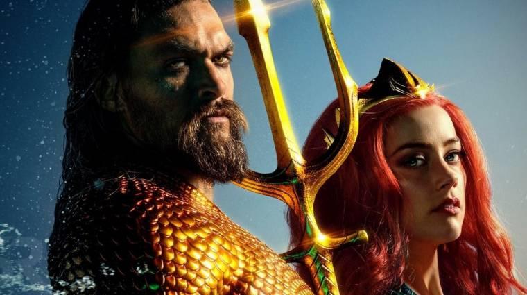 Az Aquaman forgatókönyvírója a folytatásról és a tervezett mellékszálról is beszélt kép