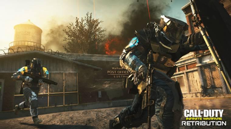 Call of Duty: Infinite Warfare - ütős traileren a Retribution DLC bevezetőkép