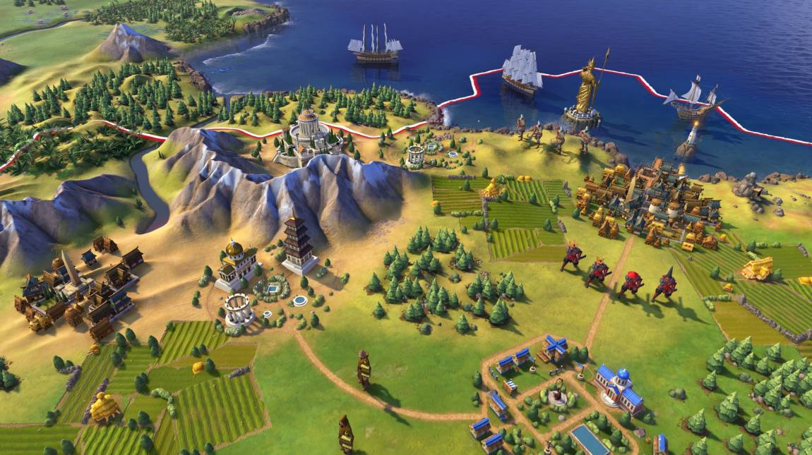 E3 2016 - fejlesztői bemutatón a Civilization VI bevezetőkép