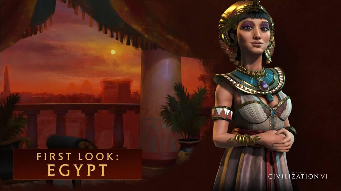 Civilization VI - bemutatkoznak az egyiptomiak bevezetőkép