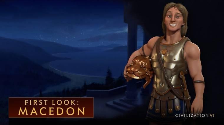 Civilization VI - jönnek a makedónok bevezetőkép