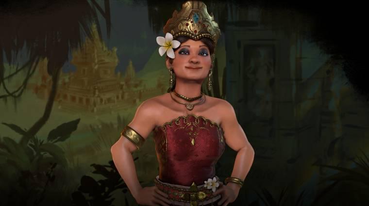 Civilization VI - egy harcos királynő vezetésével érkezik Indonézia bevezetőkép