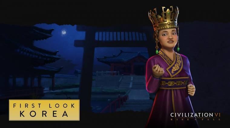 Civilization VI - Korea is bekerül a Rise and Fall kiegészítővel bevezetőkép