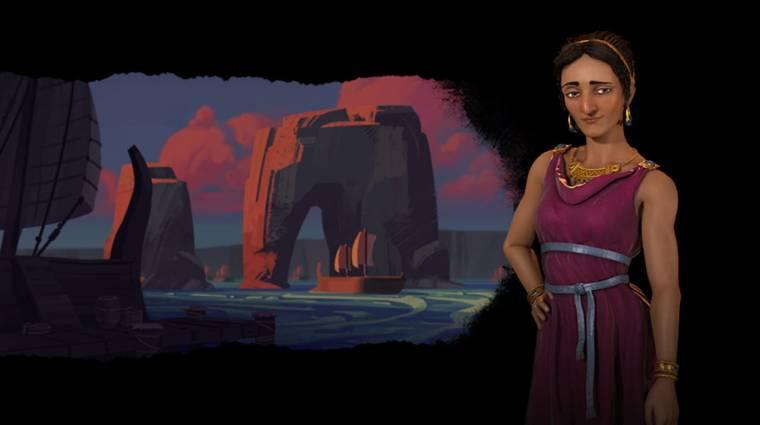 Civilization VI: Gathering Storm - bemutatkoztak a föníciaiak, Dido vezeti őket bevezetőkép
