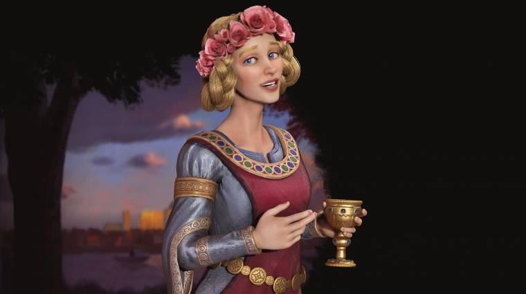 Civilization VI - angolok vagy franciák élére is állhat az új vezető, Aquitániai Eleonóra bevezetőkép