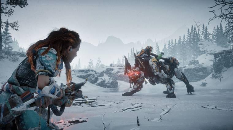 Horizon Zero Dawn: The Frozen Wilds - tűzokádó ellenfelünk is lesz bevezetőkép