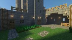 Minecraft - egy walesi kastély pontos mása készült el kockákból kép