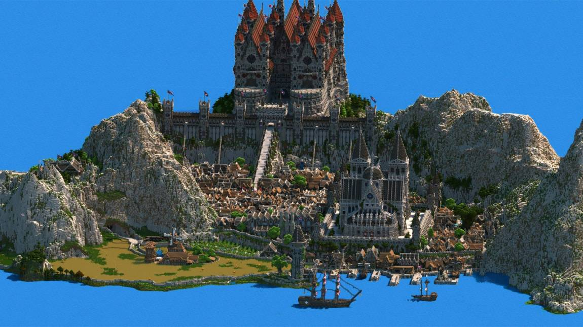 Minecraft - lenyűgöző a királyság, ami 4,5 évig készült bevezetőkép