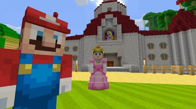 A Nintendo is kísérletezett egy Minecraft-szerű játékkal bevezetőkép