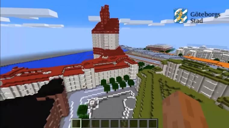 Egy újabb város tökéletes mását építették meg a Minecraftban bevezetőkép