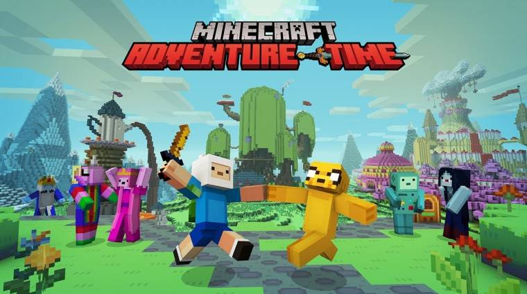 Minecraft - trailerben mutatkozott be az Adventure Time csomag bevezetőkép