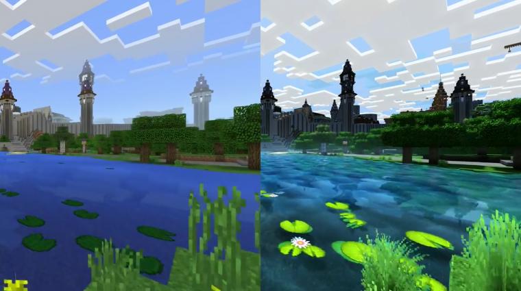 Csak jövőre lesz csudaszép a Minecraft bevezetőkép