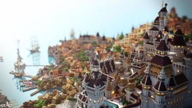 A The Witcher 3 Novigrádja egy ilyen csodás várost ihletett a Minecraftban