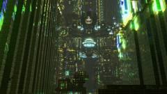 Ilyen lenyűgöző cyberpunk várost is ritkán látunk a Minecraftban kép