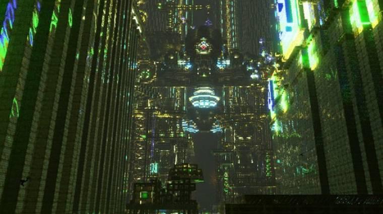 Ilyen lenyűgöző cyberpunk várost is ritkán látunk a Minecraftban bevezetőkép