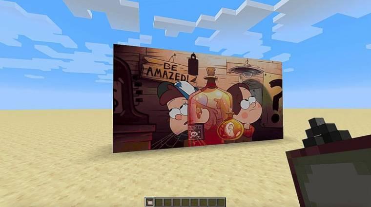 Minecraft - már tévézni is lehet a játékban bevezetőkép