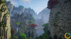 Kilenc év alatt építették fel Középfölde ikonikus helyszíneit a Minecraftban kép