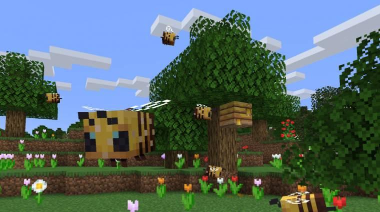 Minecraft - megérkeztek a méhek a játékba bevezetőkép
