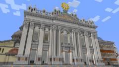 Egy vatikáni pap hivatalos szervert szeretne indítani a Minecraftban kép