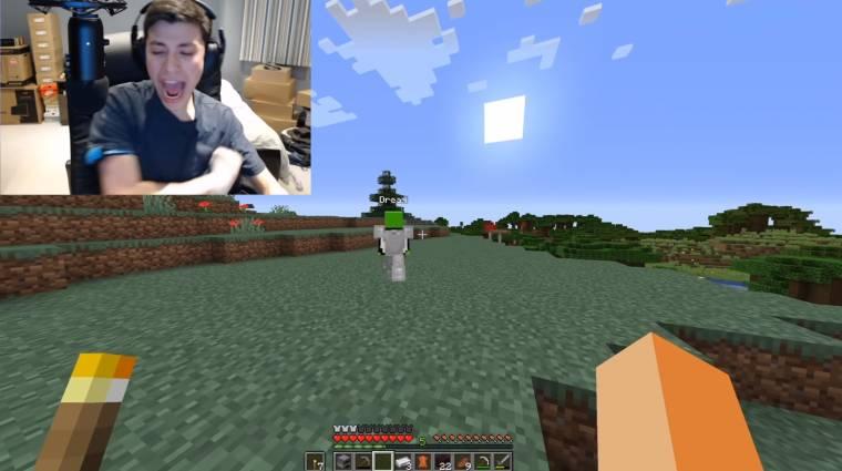 Napi büntetés: egy videós úgy játszott a Minecrafttal, hogy minden sebzés után áramot vezetett magába bevezetőkép