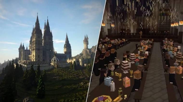 Már tölthető a Minecraftban épített Harry Potter RPG bevezetőkép