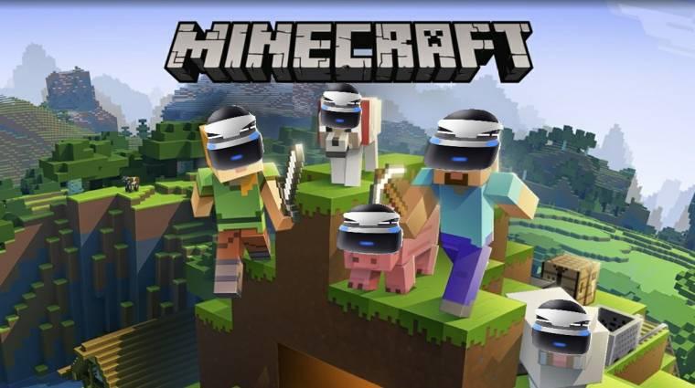 PSVR támogatást kaphat a Minecraft bevezetőkép