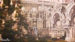 Így készülnek gyönyörű 3D-s modellek Minecraftbeli építményekből kép