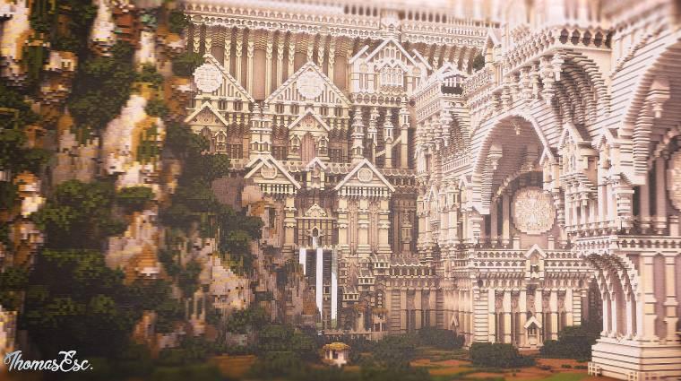 Így készülnek gyönyörű 3D-s modellek Minecraftbeli építményekből bevezetőkép