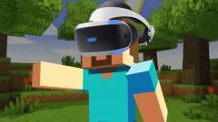 A Minecraft ingyenes PSVR-támogatást kap, ráadásul nem is kell rá sokáig várni kép