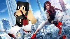 Egy mod Mirror's Edge-et csinál a Minecraftból kép