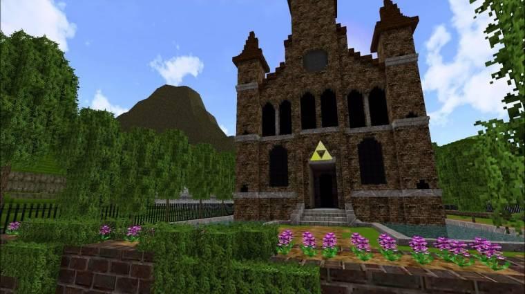 A Minecraftban készült el a The Legend of Zelda: Ocarina of Time remake-je bevezetőkép