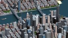 Egy magyar Minecraft-rajongó három évig dolgozott ezen az amerikai nagyvároson kép