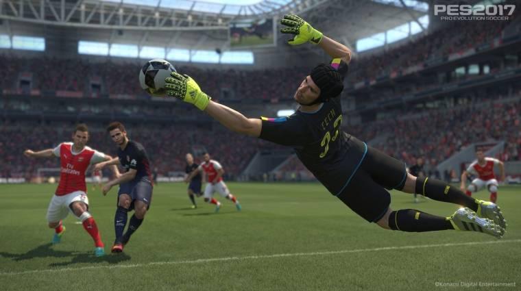 Gamescom 2016 - a PES 2017 kipróbálható lesz bevezetőkép
