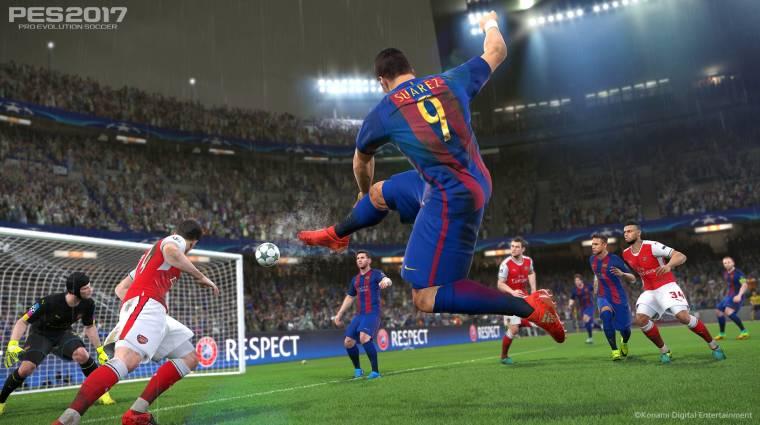 Pro Evolution Soccer 2017 - idén sem a PC-sek járnak a legjobban bevezetőkép