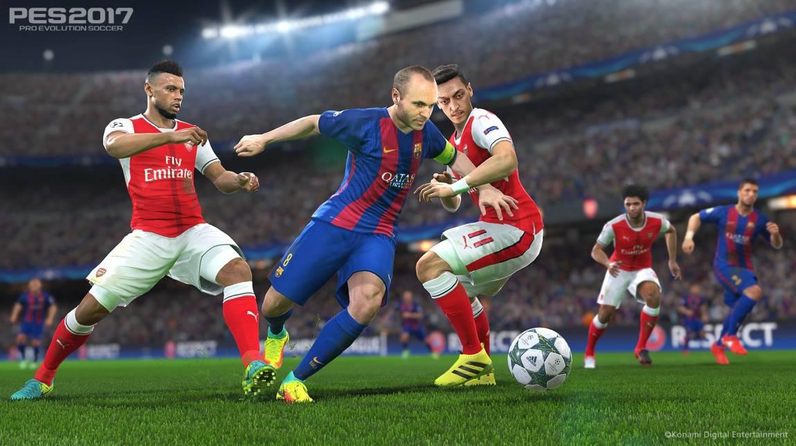 Pro Evolution Soccer 2017 - gyönyörű gólok a Barcelonától bevezetőkép