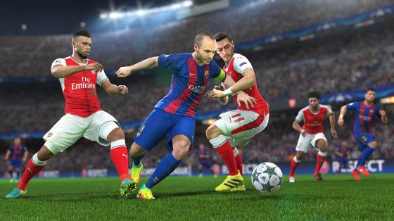 Pro Evolution Soccer 2017 infódoboz