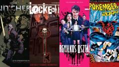 Olvasósarok - Vaják, Locke & Key, Orgyilkos osztály és Pókember 2099 kép