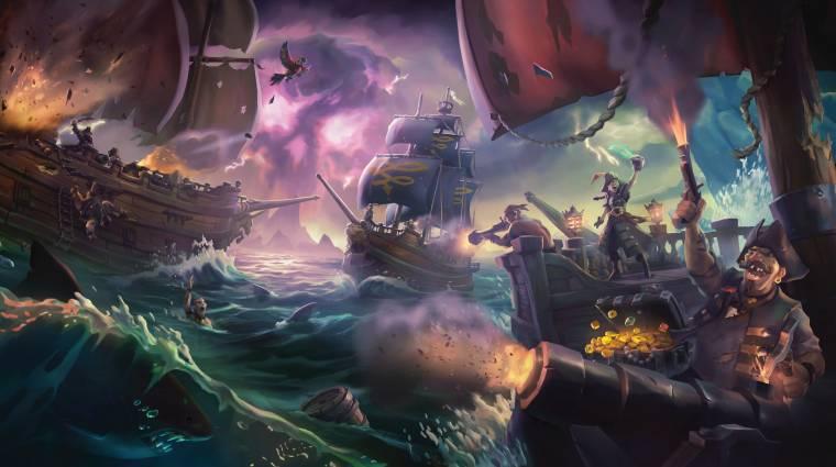 Sea of Thieves - több mint 300 ezren kalózkodtunk a bétában bevezetőkép