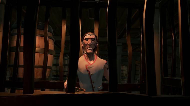 Sea of Thieves - az új trailer azt is megmutatja, milyen lesz egyedül játszani bevezetőkép
